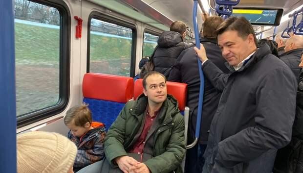 Воробьев: МЦД позволят увеличить пассажиропоток на 40%