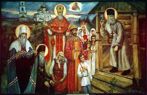 Церковная братва одна из первых предала Николая II. Зато потом сделала его страстотерпцем