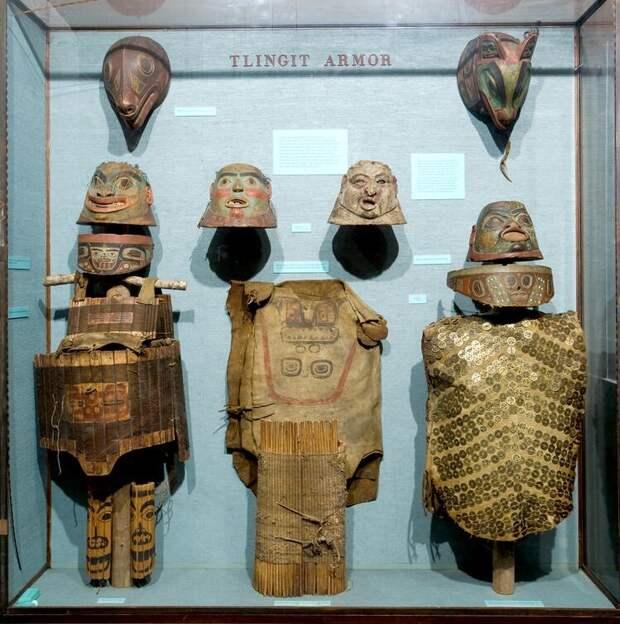 Доспехи тлинкитов. Из американского музея естественной истории (amnh.org)
