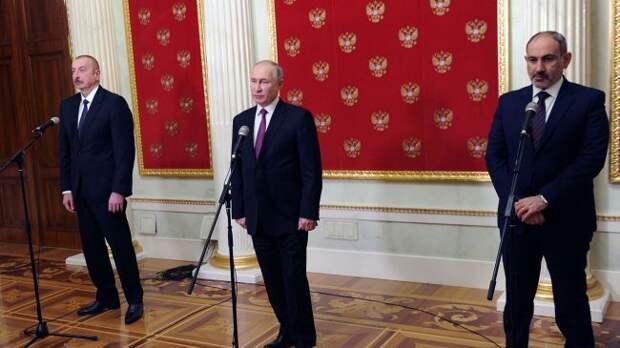 Грехи Пашиняна валят наМоскву, аЗапад подначивает Баку против миротворцев