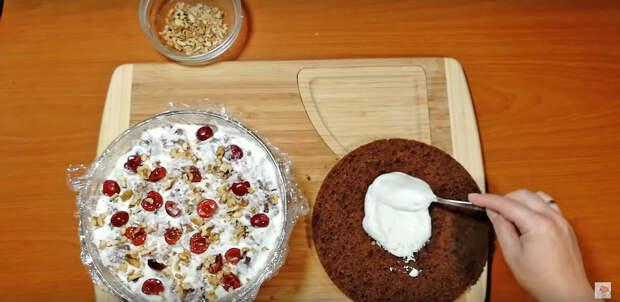 """Любимый торт """"Панчо"""" без духовки"""