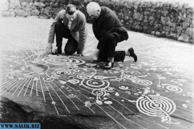 Таинственные петроглифы камня Кочно