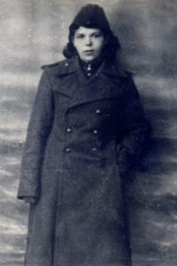 Савкина А.М. в годы войны / Фото: из личного архива