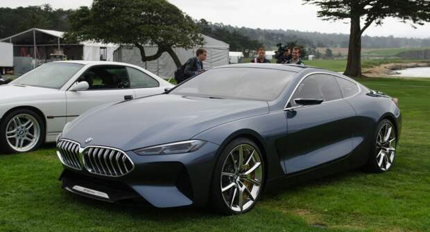 BMW 8-Series Concept: Возрождение легенды