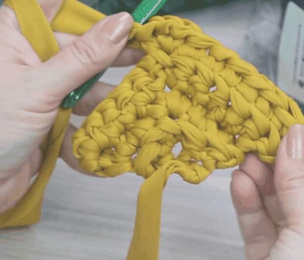 Стильная сумочка: легкое вязание — эффектный результат