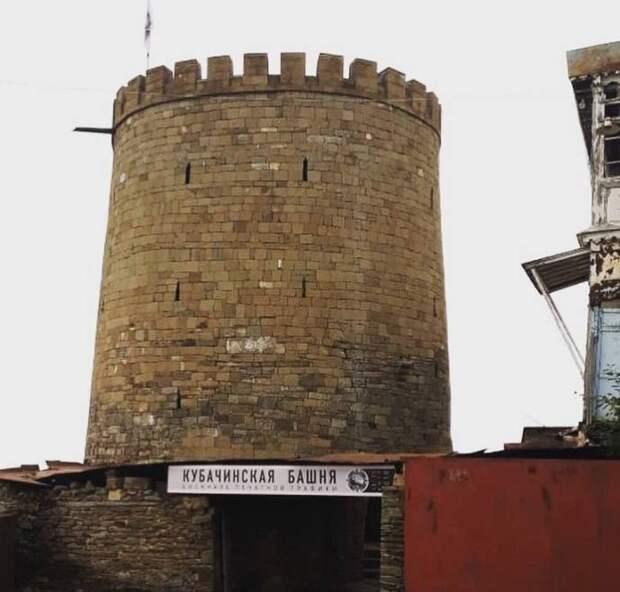Кубачинская боевая башня. Осколок государства Зирихгеран