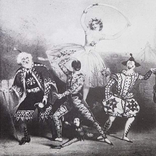 Пантомима «Король замка» в постановке лондонского театра «Принсесс»