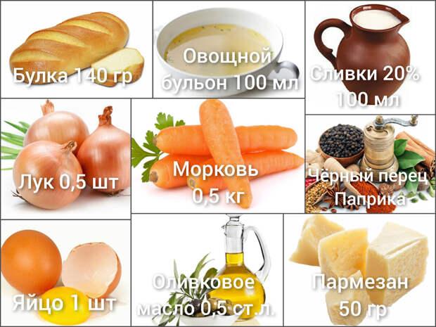 Морковный гратен. Вегетарианское блюдо или оригинальный гарнир
