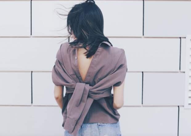 Креативные переделки рубашки (2Diy)