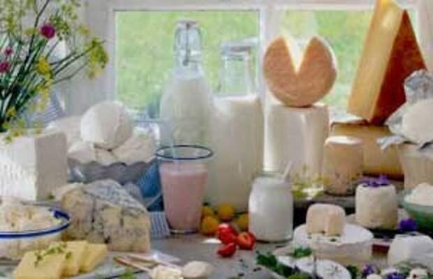 Кисломолочные продукты омоложение