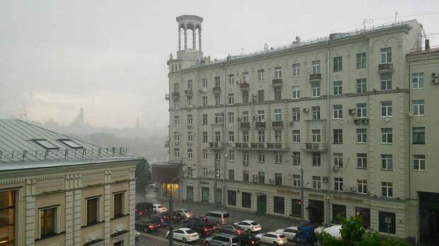 Жителям Москвы сообщили о приближении дождливой погоды