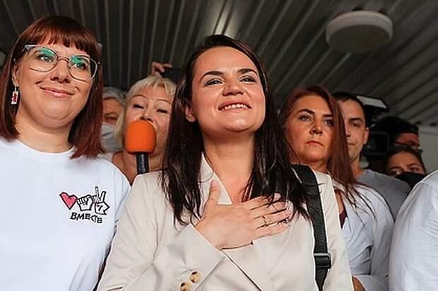 """Тихановская записала новое видеообращение: """"Я готова стать национальным лидером"""""""