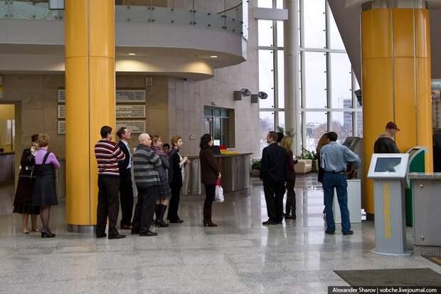 Экскурсия по Национальной библиотеке Беларуси