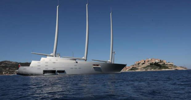 Смотрим и завидуем: яхта русского миллиардера Мельниченко за 360 миллионов долларов