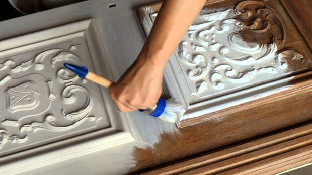 Меловая краска для мебели