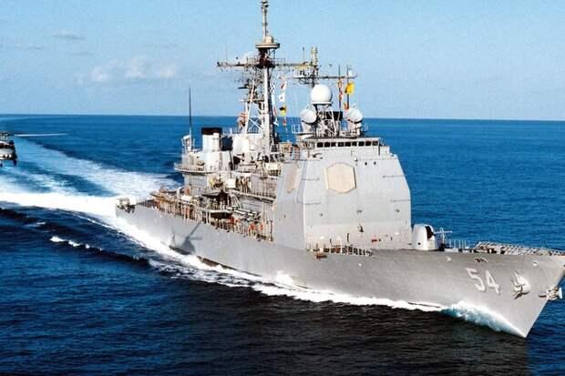 Китайский тяжелый БПЛА против американского крейсера: неравная схватка