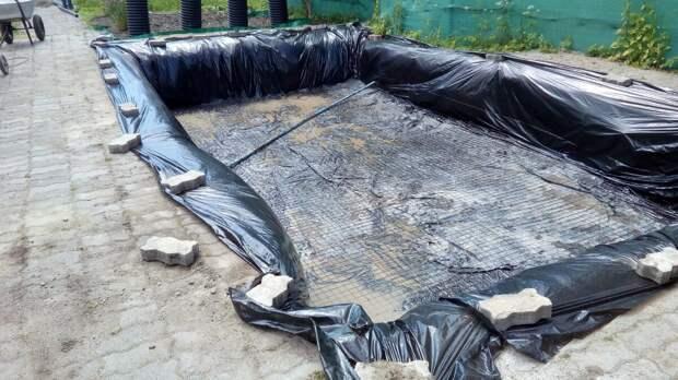 Строим круглогодичный бассейн на даче - часть 1.
