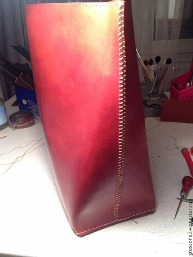Шьем женскую кожаную сумку