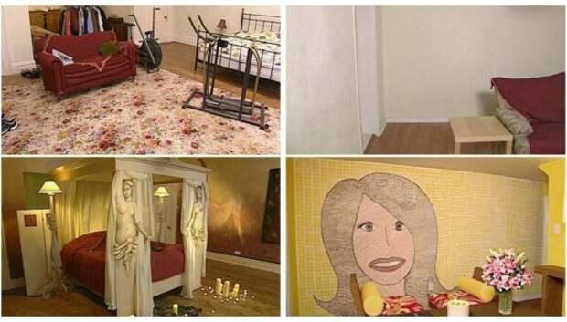 25 кардинальных смен интерьера из культового шоу BBC «Changing Rooms»