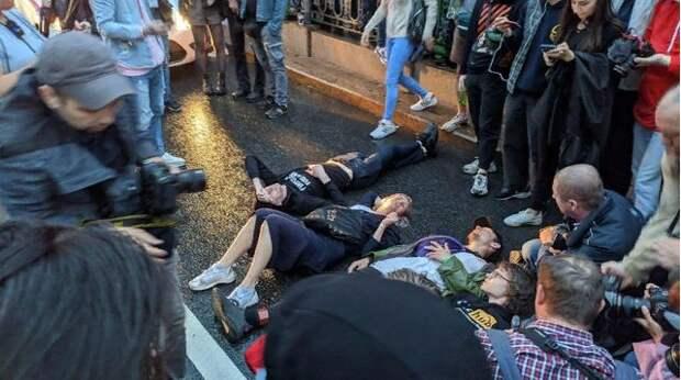 «Протесты» в Москве — бесстыдное и бессильное лицемерие «Открытой России»