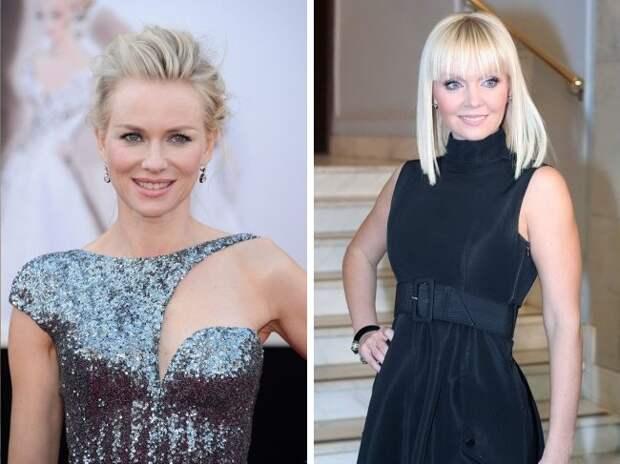 Вот как выглядят российские и зарубежные звезды одного возраста.