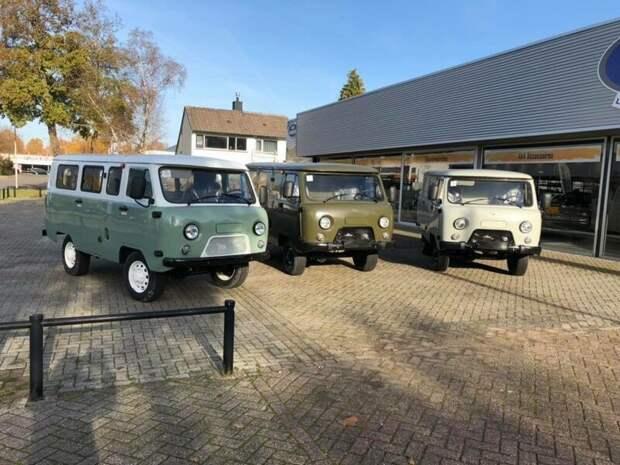 Автодом на базе новой Буханки от голландского дилера УАЗ авто, автодом, тюнинг, уаз