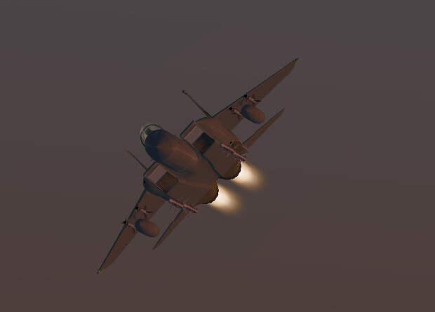 Искусственный интеллект испытали виртуальным воздушным боем