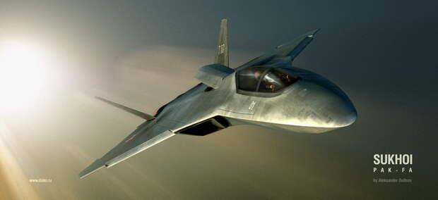 Российский малозаметный истребитель летает быстрее американских и превосходит их по дальнобойности
