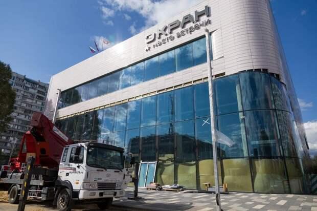 В районе Марьино подходит к концу реконструкция кинотеатра «Экран»