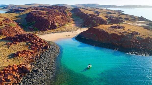 Под водами Австралии найдены следы древних людей