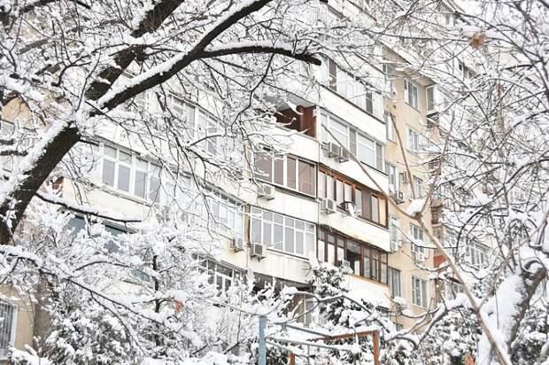 На Кубани снова ожидается снегопад