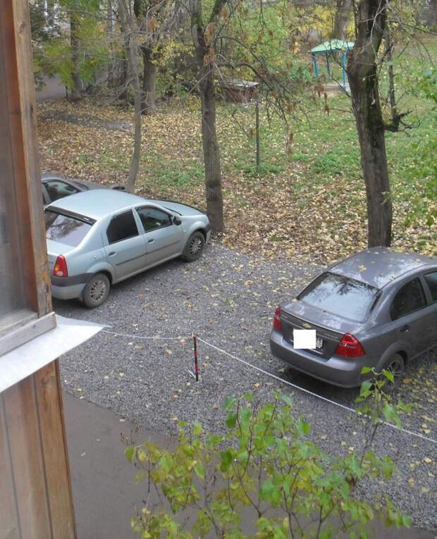 Как я законно отгородил себе место под автомобиль во дворе. Реальный опыт