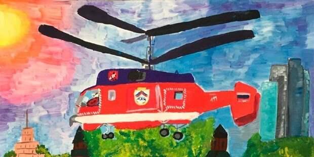 В Московском авиацентре определили победителя конкурса рисунков