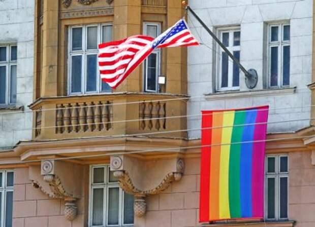 Что Госдеп прячет за радужным флагом