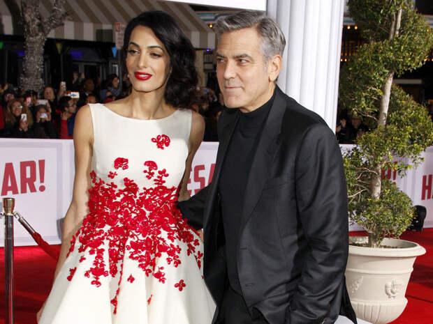 Джордж и Амаль Клуни станут родителями во второй раз