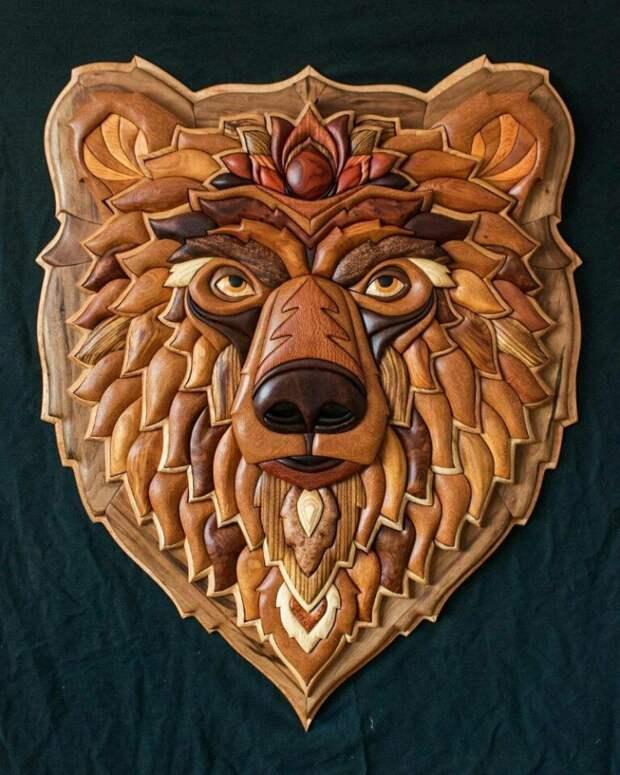 Деревянные мозаики головоломки  (подборка)