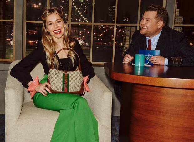 Gucci запустили ток-шоу. Среди гостей — Гарри Стайлз, Сиенна Миллер и Дайан Китон