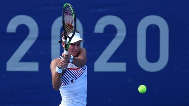 Кудерметова проиграла Мугурусе в первом круге теннисного турнира ОИ в Токио