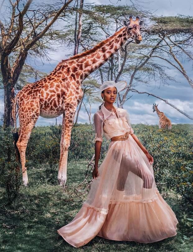 ФОТОПРОЕКТ КРИСТИНЫ МАКЕЕВОЙ:  ДИКАЯ ПРИРОДА АФРИКИ