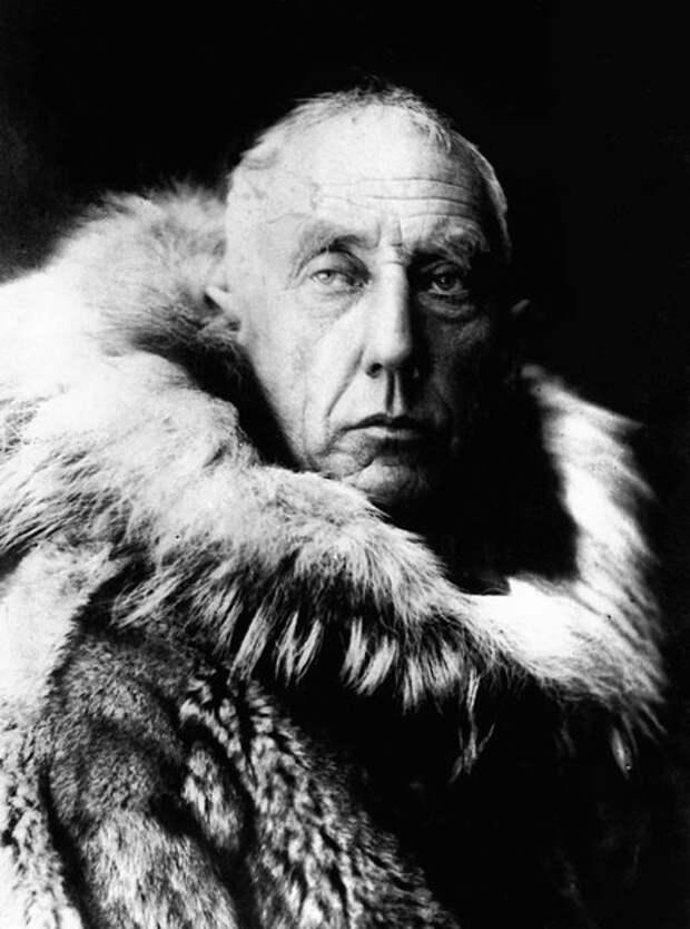 Руаль Амундсен, 1912 год (Wikimedia)