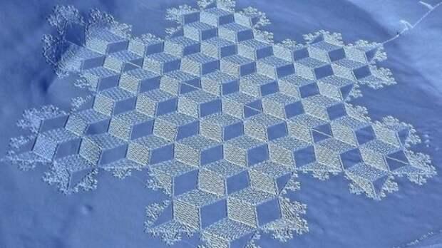Снежные картины