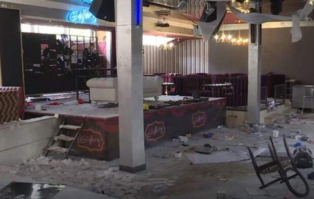 В крымском селе двое подростков устроили погром в ночном клубе (ВИДЕО)