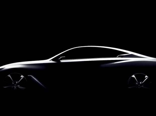 Infiniti покажет в январе концепт нового купе Q60