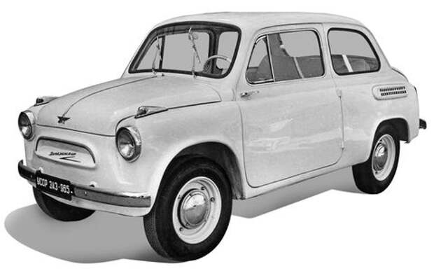 ЗАЗ-965 – скопирован или нет?