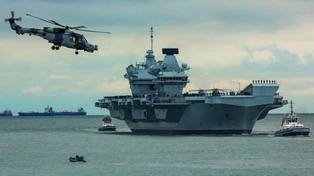На строительстве флота украли всё... В Англии