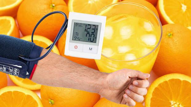 Стакан сока одного фрукта в день может снизить артериальное давление и риск инсульта
