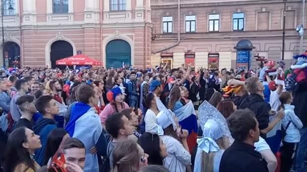 Власти Петербурга ввели квоту на заполняемость фан-зоны Евро-2020