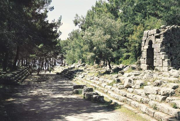 Руины городов Фазелис и Олимп. Достопримечательности Кемера