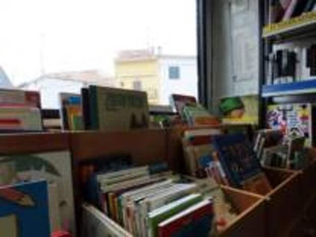 Библиотека на колесах развозит книги по деревням региона Мадрид