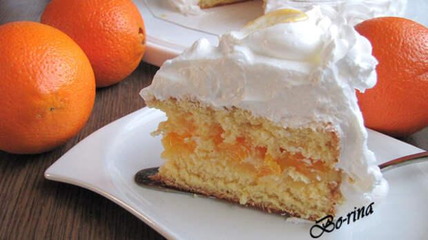 """Торт """"Апельсиновый сюрприз"""""""